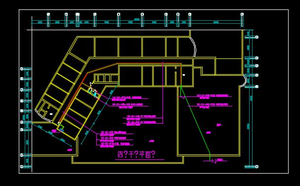 某地区霓虹灯照明系统设计CAD施工图纸图片2