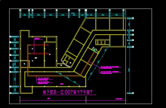 某地区霓虹灯照明系统设计CAD施工图纸图片3