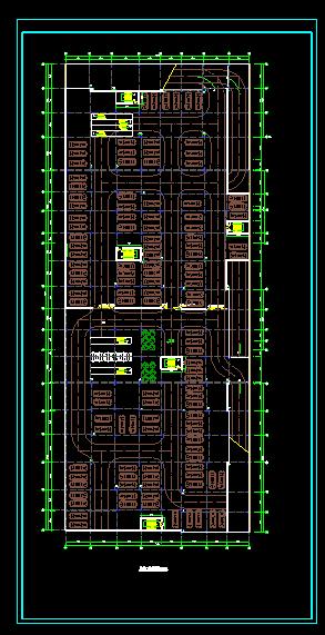 某商场建筑图(附带地下二层停车场)图片2