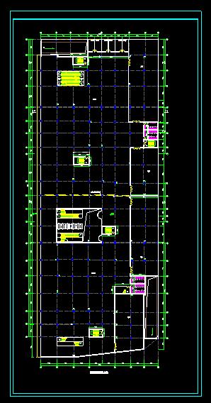 某商场建筑图(附带地下二层停车场)图片3