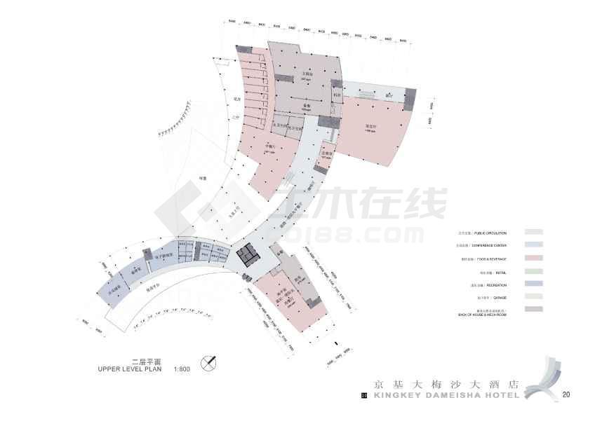 某宾馆酒店建筑方案文本(含效果图)-图3