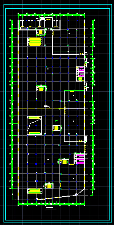 某商场建施设计CAD图(附带地下二层停车场)图片3