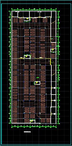 某商场建筑设计图(带地下停车场)图片2