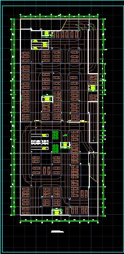 某商场建筑设计图(带地下停车场)图片3