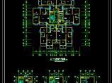 某18层综合办公楼电气cad施工图纸图片1