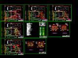宾馆综合楼给排水空调设计CAD施工图图片1