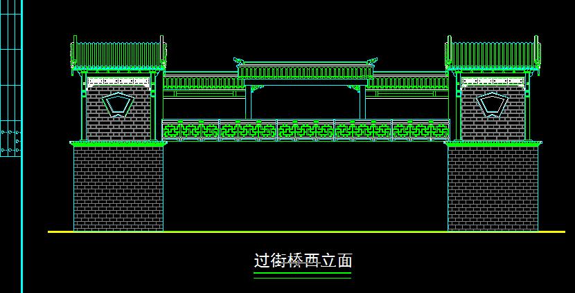 精品古建筑方案设计及施工全套CAD图纸图片2