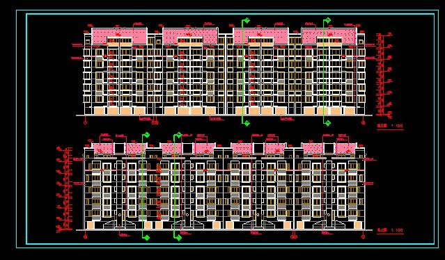 某高新区涑河居住区31栋住宅楼图纸图片2