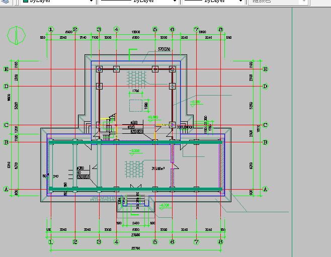 仿古建筑方案设计与施工全套CAD图纸图片2
