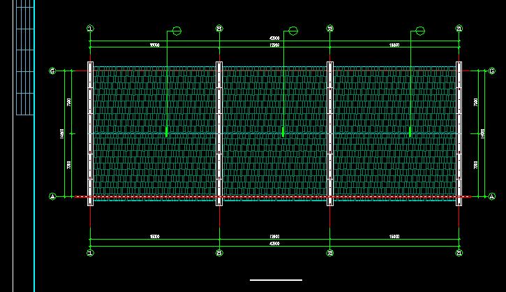 居士房古建筑方案设计全套CAD图纸图片3