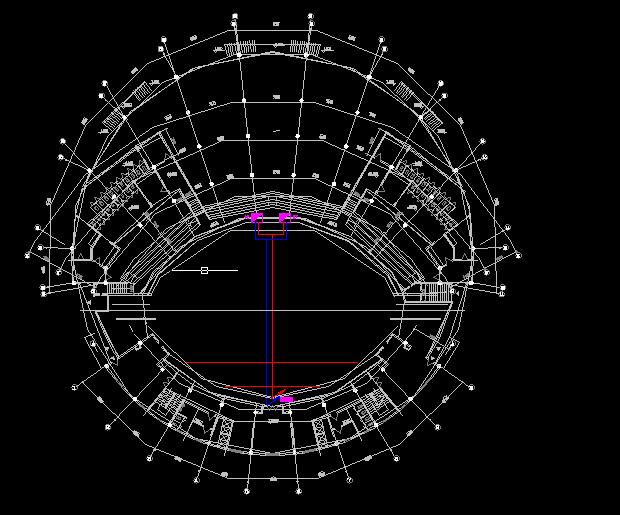 大型舞台照明系统设计方案全套CAD图纸图片2