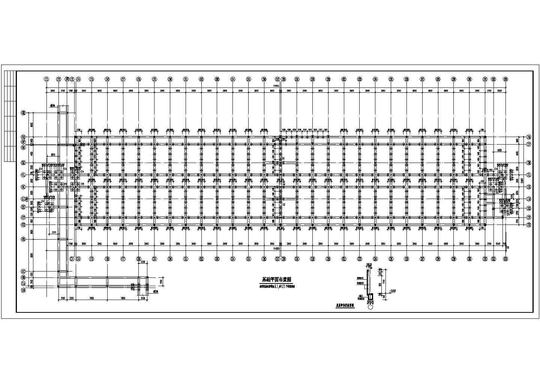 学校公寓砌体结构建筑结构CAD图纸图片1