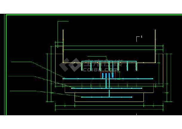 某公园水景设计施工全套CAD图纸-图3