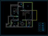 别墅电气照明布线设计cad施工方案图图片3