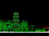 某新区二栋屋顶花园绿化设计全套CAD图纸图片3