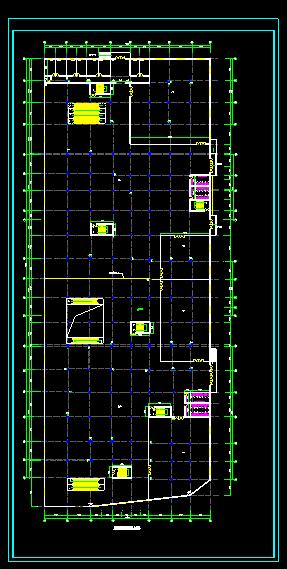 某多层商场建施图(附带地下二层停车场)图片2