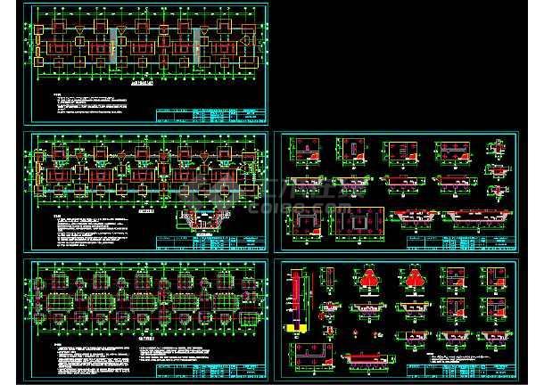 点击查看十六层剪力墙小高层住宅楼全套设计cad施工设计图纸第1张大图