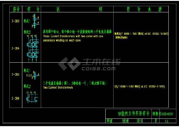 建筑电气工程设计常用图形和文字符号(CAD版)-图1