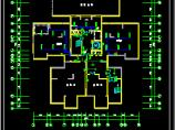 某18层综合办公楼电气cad施工方案设计图纸图片3