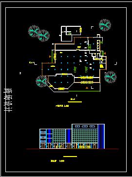 商场设计方案施工CAD大样平立面图纸图片2