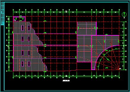 商场设计方案施工平立面CAD建筑图图片3