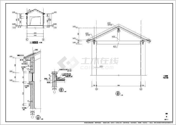 沿山游船码头公共厕所改造工程施工图(含总图和建筑改造两部分)-图2