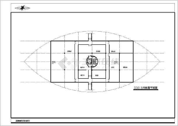 点击查看重庆市枇杷观景楼项目规划设计施工图纸第1张大图