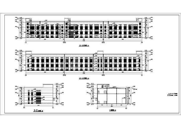 点击查看湖州某节能环保产业园(一期)建安及附属工程建筑设计施工图第1张大图