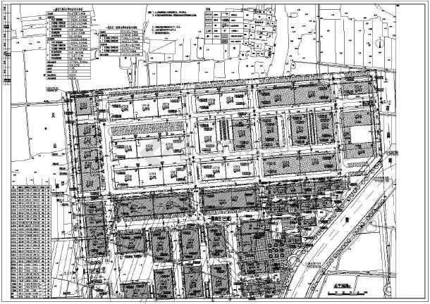 点击查看湖州某节能环保产业园(一期)建安及附属工程建筑设计施工图第2张大图