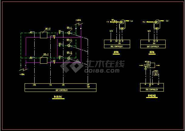 民用建筑暖通空调动力施工图设计深度图样-图3