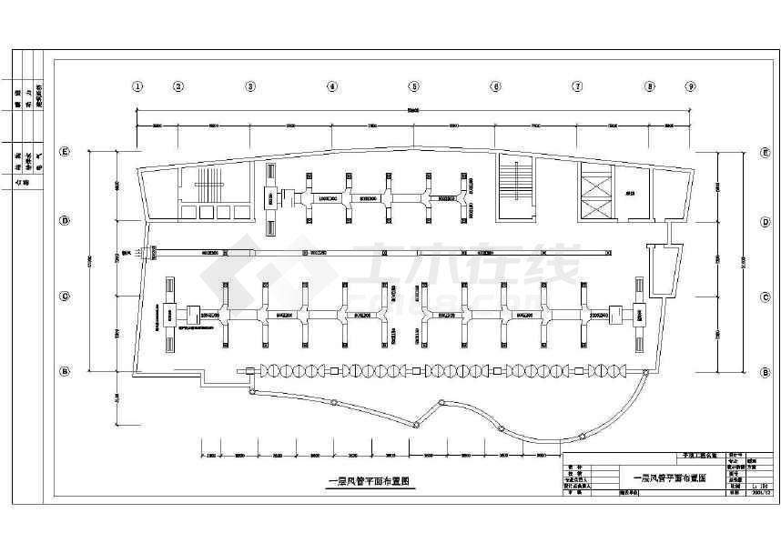 点击查看某详细的艺术大厦空调设计方案图纸第1张大图