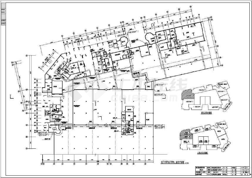 点击查看某地下车库弱电设计图纸(标注详实)第1张大图