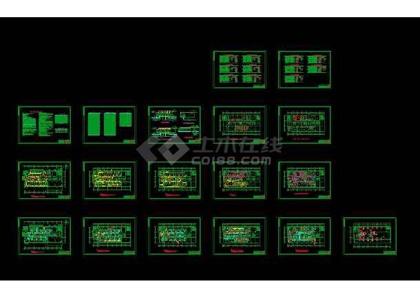 点击查看某市疾病控制中心实验楼(含P3室)空调图第1张大图