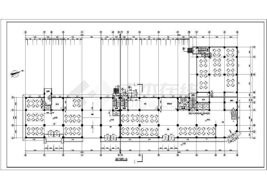 点击查看某地十三层综合楼建筑图(含设计说明)第1张大图
