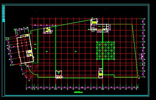 某大型商场设计施工全套CAD方案图图片3