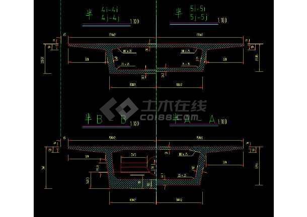 十几种桥梁结构全套CAD设计施工方案图纸-图2