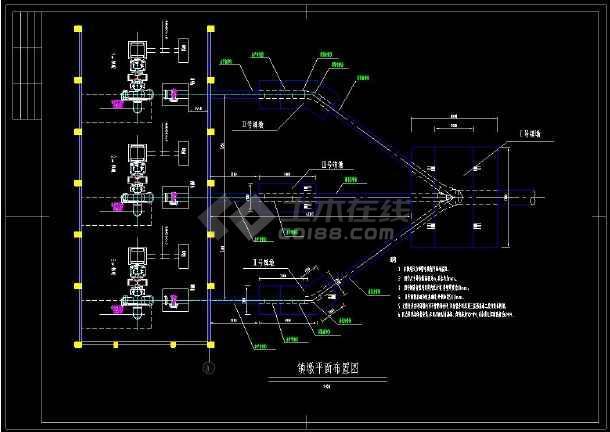 某水电站压力岔管cad设计施工方案图-图3