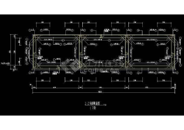 某地三孔箱涵全套结构cad设计施工图-图3