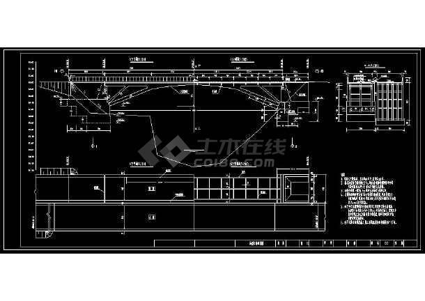 完整版预应力桥梁cad设计方案图-图1