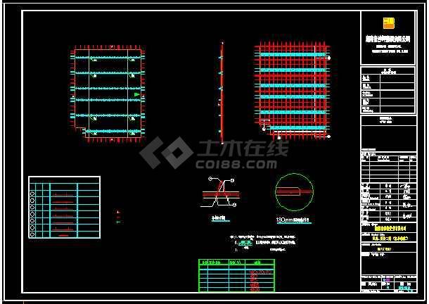 详细的装配式叠合墙板拆分图设计详图-图一
