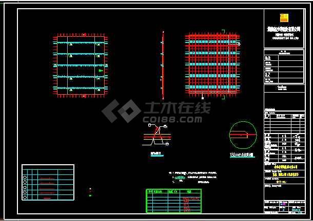 详细的装配式叠合墙板拆分图设计详图-图二