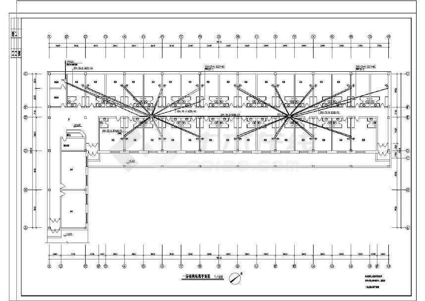 点击查看某电力培训中心电气图纸(共15张)第1张大图