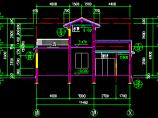 某地一套古建筑施工设计CAD图纸1图片2