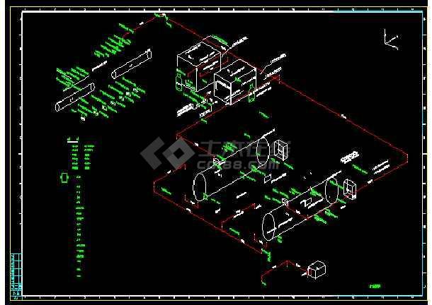 7MW燃气热水锅炉(工业管道)-图2