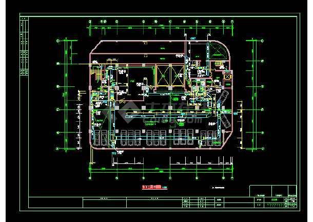 某大商场通风空调cad设计施工图-图1