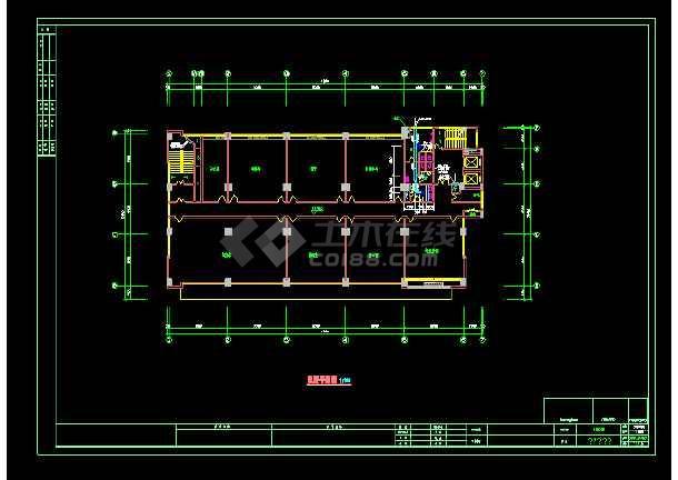 某大商场通风空调cad设计施工图-图2