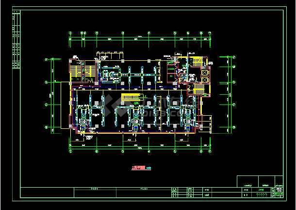某大商场通风空调cad设计施工图-图3