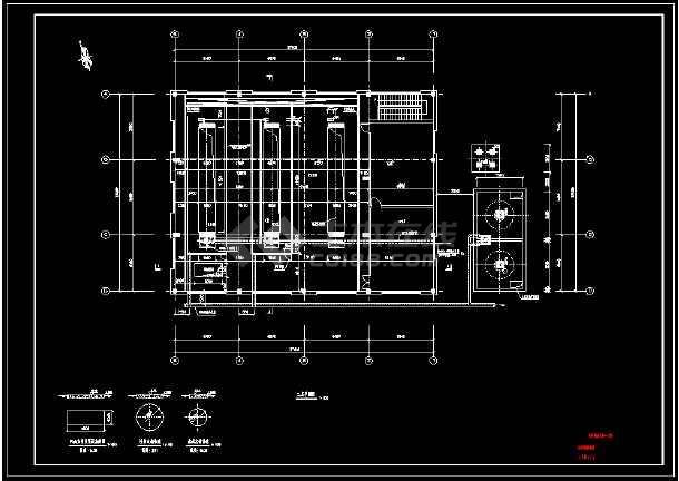 某地50000吨脱水机房图纸-图1