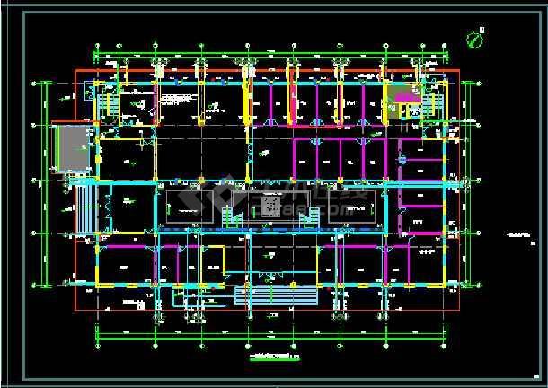 一套峰江市派出所建设工程--水设计图纸-图2
