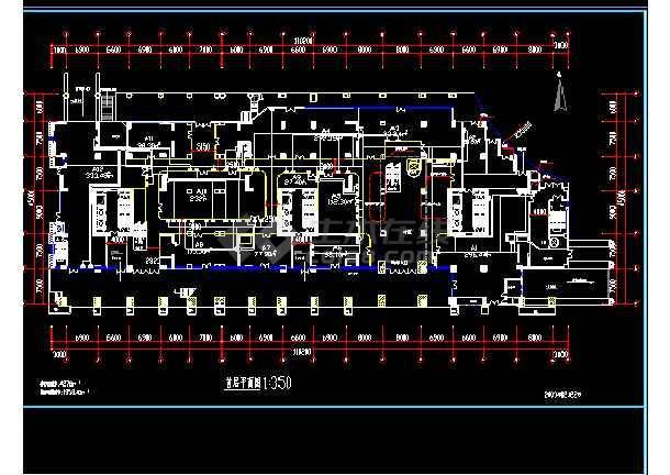 灯饰城的电器施工cad平面设计图-图2